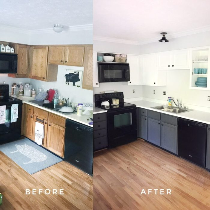 How To Paint Kitchen Cabinets Diy Darlin
