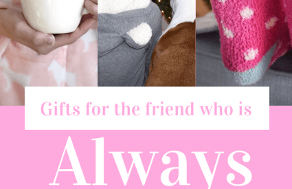 Gift Guide for The Friend Whose Always Cold