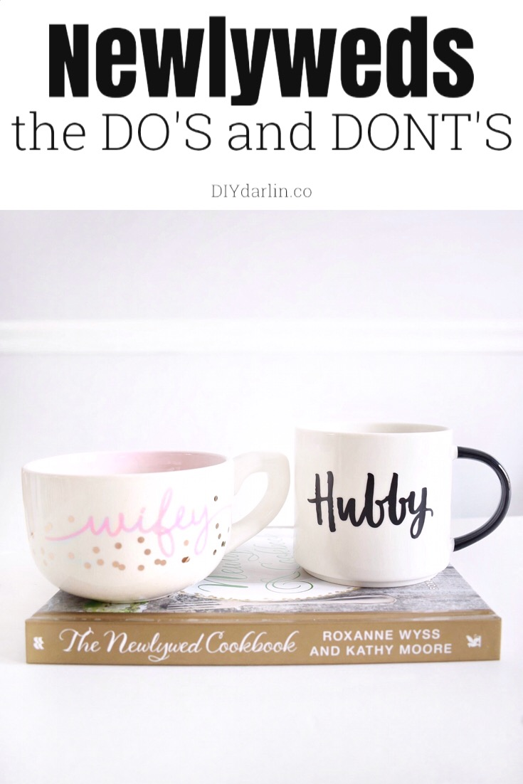 The Dos and Donts of a New Marriage