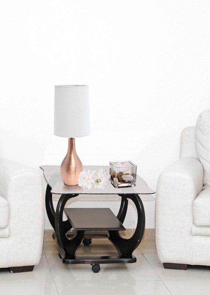 rose gold home decor for added glam diy darlin 39. Black Bedroom Furniture Sets. Home Design Ideas
