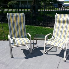 Recover Sling Patio Chairs Lifetime Adirondack Chair Sam S Club  Diy Decorating For Less