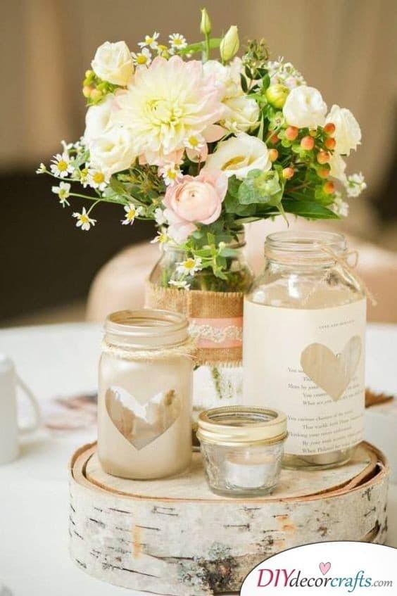 diy wedding centerpieces diy