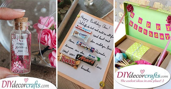 homemade birthday gifts 30