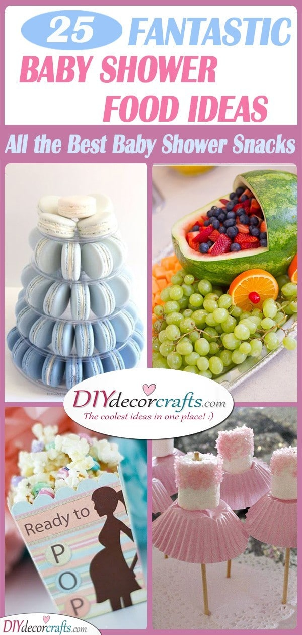 Baby Shower Food Ideas For A Girl : shower, ideas, Shower, Ideas, Snacks
