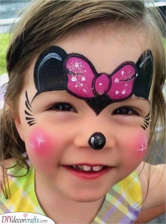 Mouse Face Paint : mouse, paint, Painting, Parties, Ideas