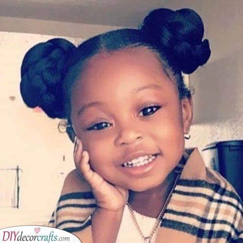 Cute Hairstyles For Little Black Girls Easy Hairstyles For Black