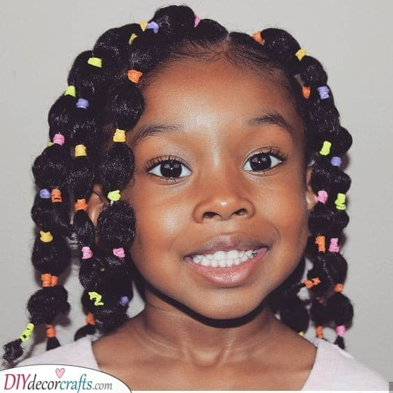 39 Cute Little Black Girl Hairstyles With Beads