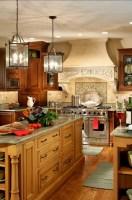 53+ Stunning Rustic Farmhouse Style Kitchen Decorating ...