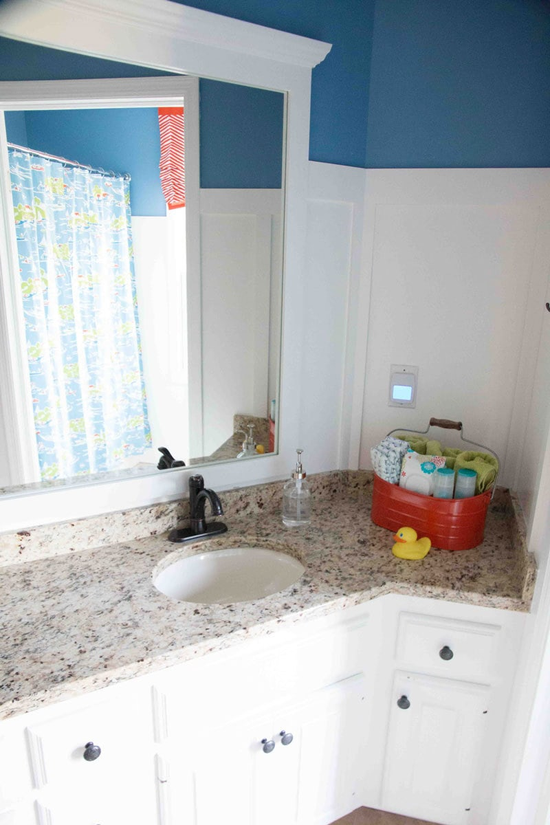 Painted Bathroom Vanities How To Paint Bathroom Cabinets Why You Shouldn T Sand Your Cabinets
