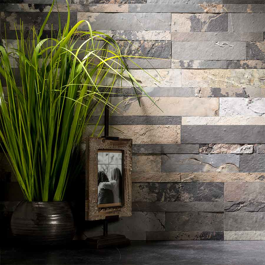 Aspect Stone Tile in Medley Slate