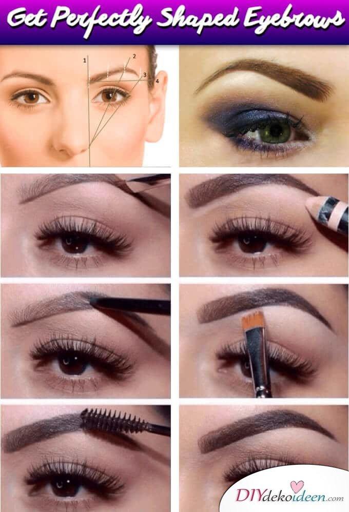 Die perfekte Anleitung dazu wie du deine Augenbrauen