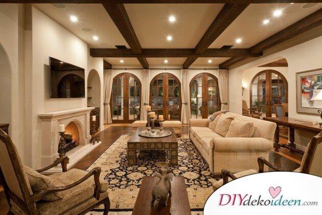 Extravagante Wohnzimmer InterieurIdeen