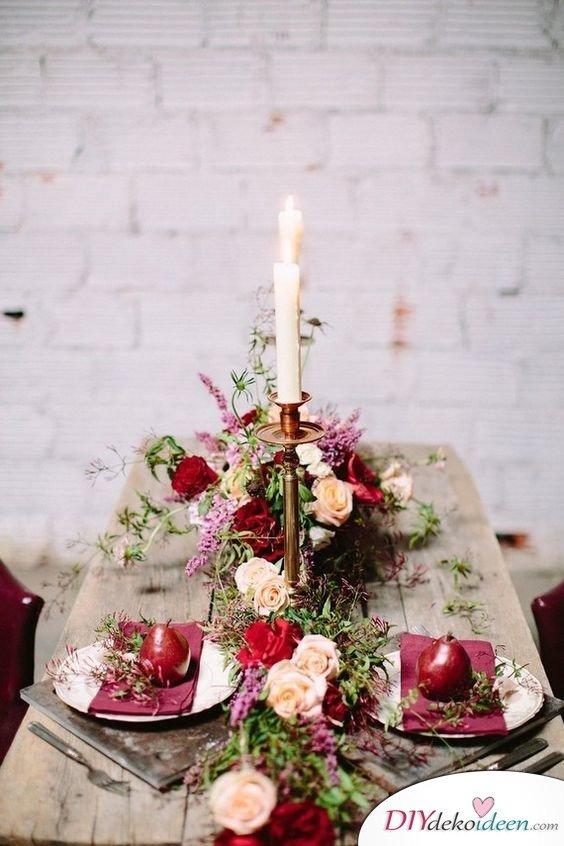 Traumhafte Hochzeitstischdeko Ideen fr deine Hochzeitsplanung