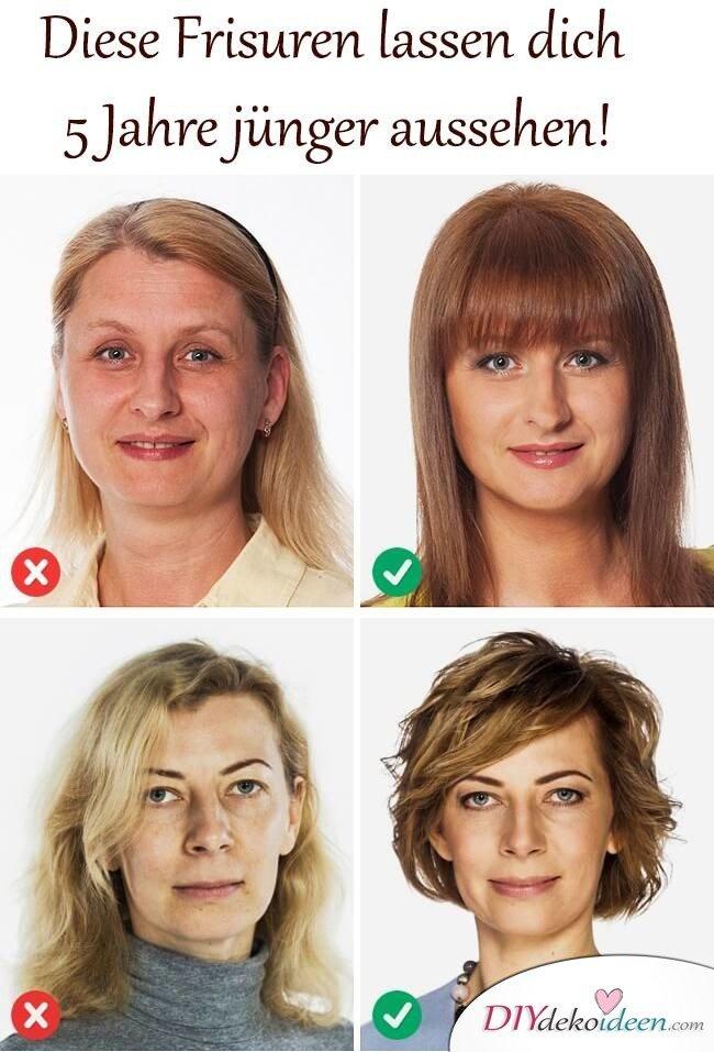 Diese Haarfrisuren lassen dich mindestens 5 Jahre jnger aussehen