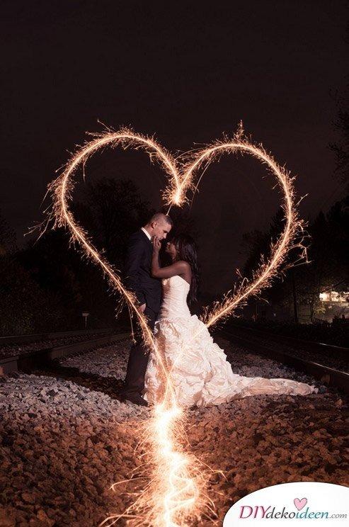 Wunderkerzen zur Hochzeit  Traumhafte Hochzeitsbilder Ideen