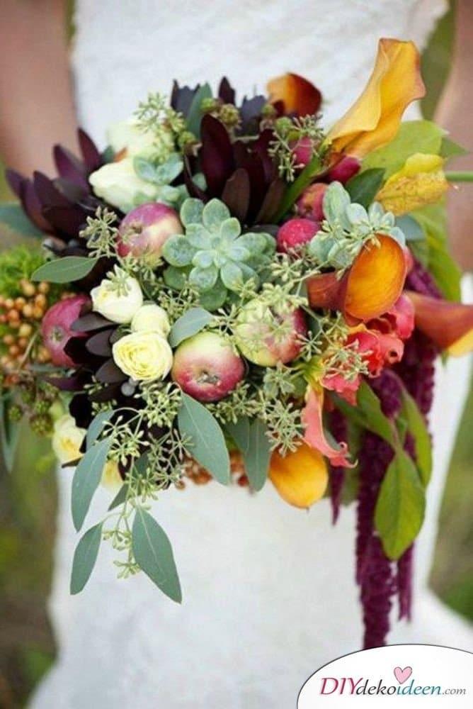 Obst Deko zur Hochzeit  DIY Ideen fr Deko Kuchen und