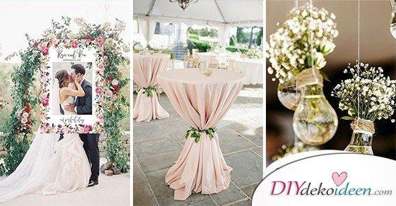 40 DIY Hochzeitsdeko Ideen  schne Hochzeitsdekoration