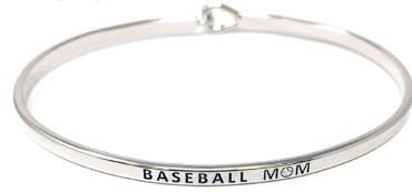 Baseball mom bracelet.