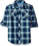 Teen boy outfits, U.S. Polo plaid shirt
