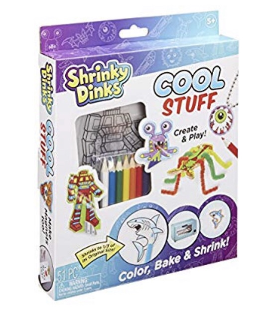 Activities for kids: shrinky dinks