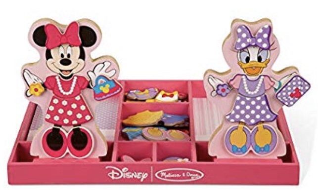 Minnie and Daisy Magnetic Dolls