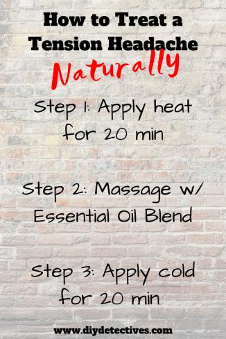 Natural Tension Headache Relief Method