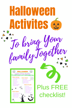 Hallween Activities to bring your family together.