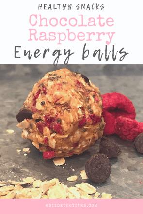 Healthy Snack: Chocolate Raspberry Energy Balls