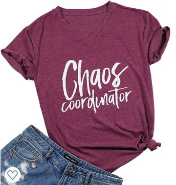 Chaos Coordinator mom shirt
