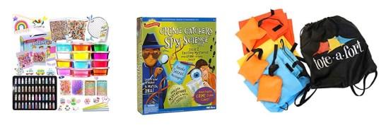 Birthday card + gift ideas: Kits