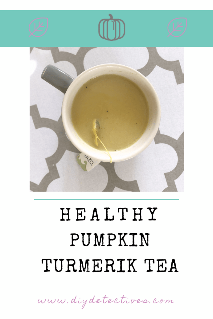 Healthy Pumpkin Turmeric Tea