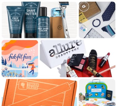 Birthday Cards + Gift Ideas: Subscription Boxes