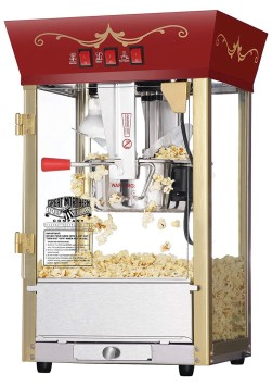 gift ideas for men: Popcorn machine