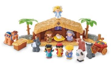 Faith focused toys: Little People Nativity Set