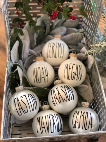 Farmhouse Family Ornaments