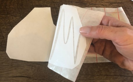 Cricut Method: Adhere to transfer paper