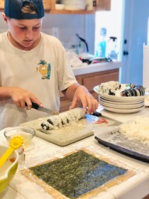 Foods for Kids:  California Rolls