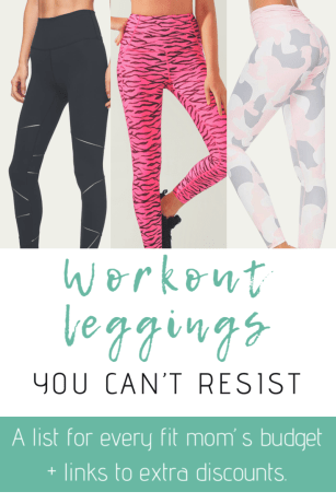 Workout Leggings For Every Fit Mom's Budget