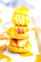 Super Bowl Party: Chicken Waffle Sliders