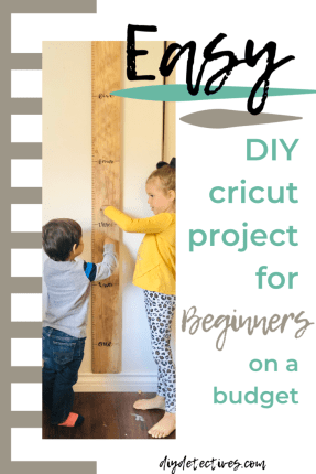 Easy DIY Cricut Project for Beginners on a Budget