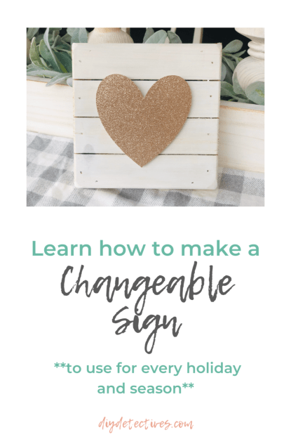 Learn How to Make a Changeable Sign for Every Season