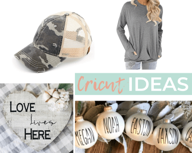 More Cricut Project Ideas