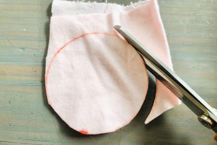 Cutting Scrap Fabric