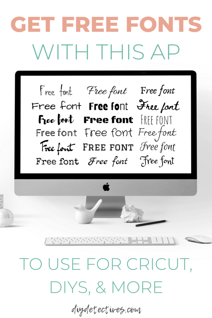 Get Free Fonts With This Ap