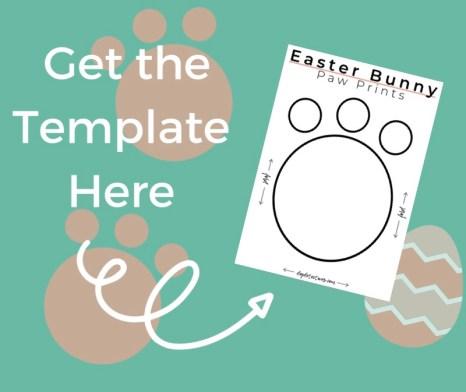 Free Bunny Paw Print