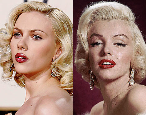 Made up like Marilyn (2/4)