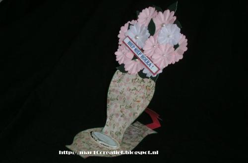 staande bloemenkaart diydiva