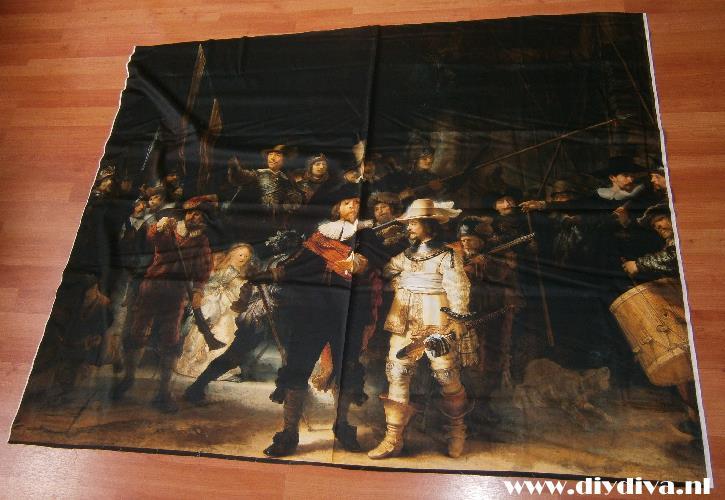 Rembrandt stof kopen diydiva