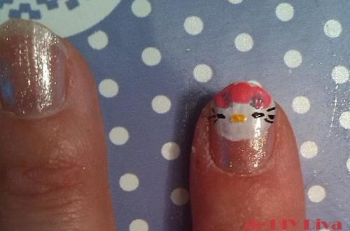 Hello Kitty nagels diydiva