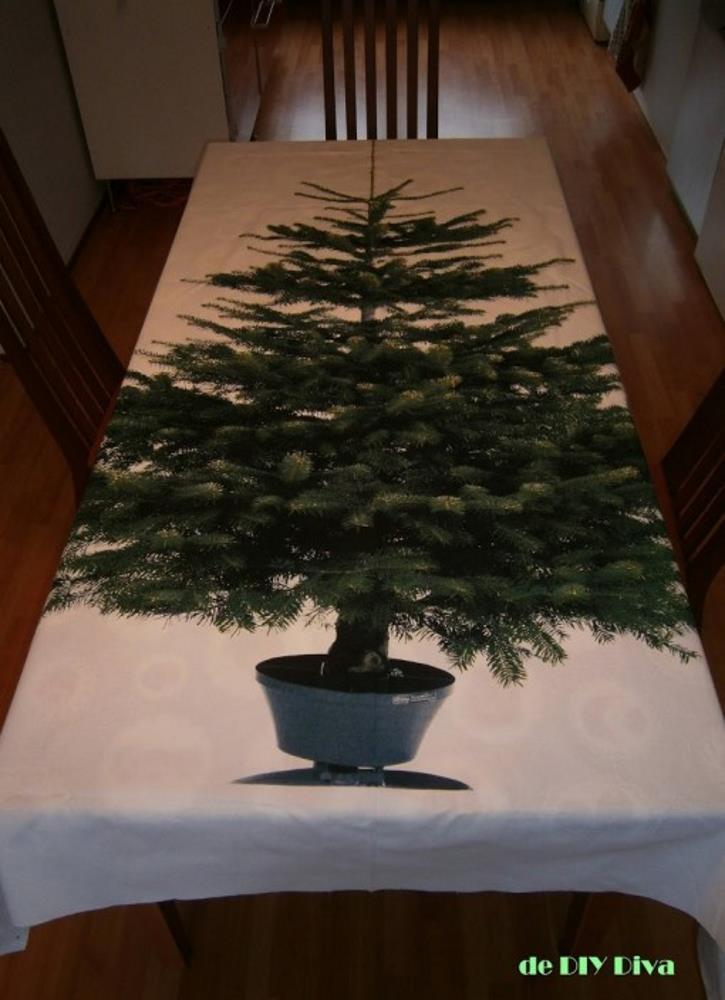 Ikea stof kerstmis diydiva